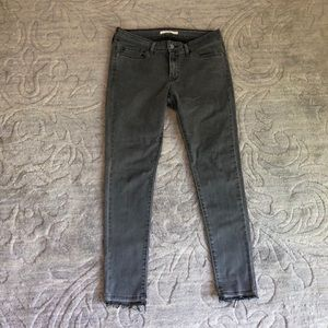 Levi's Grey Skinny jeans